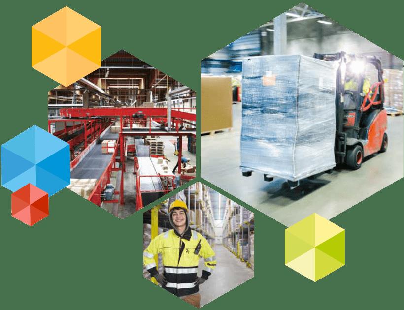Videoüberwachungslösungen für die Logistik von DIVIS - Produkte