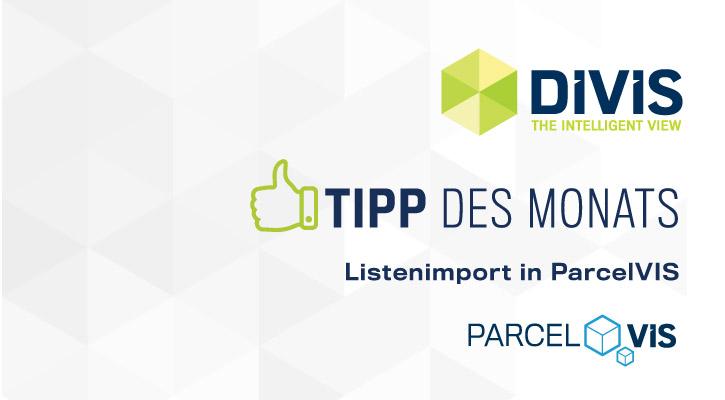 DIVIS-Tipp: Listenimport in der DIVIS-Software | Videogesteuerte Warenverfolgung