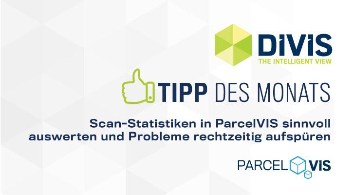 DIVIS-Tipp: Scan-Statistiken in der DIVIS-Software | Bildgesteuerte Sendungsverfolgung