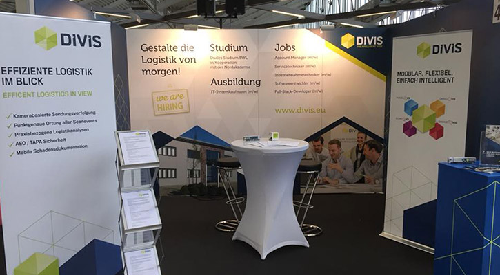 Messestand DIVIS