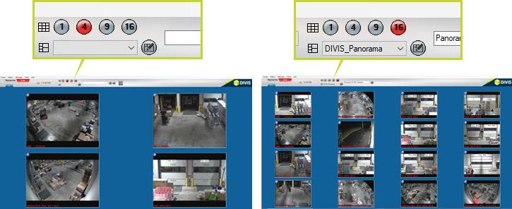 Videomanagement-Software Logistik DIVIS