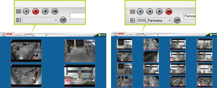 Individuelle Live-Ansichten in der CargoVIS-Videoüberwachungssoftware anlegen und verwalten