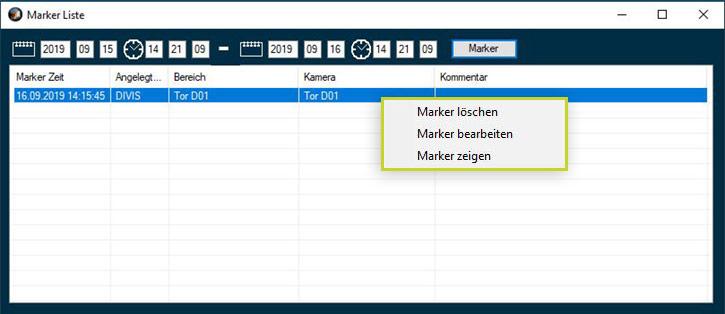 Marker setzen in CargoVIS und ParcelVIS Software | DIVIS