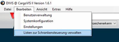 cargovis_liste-schrankensteuerung_menu_de