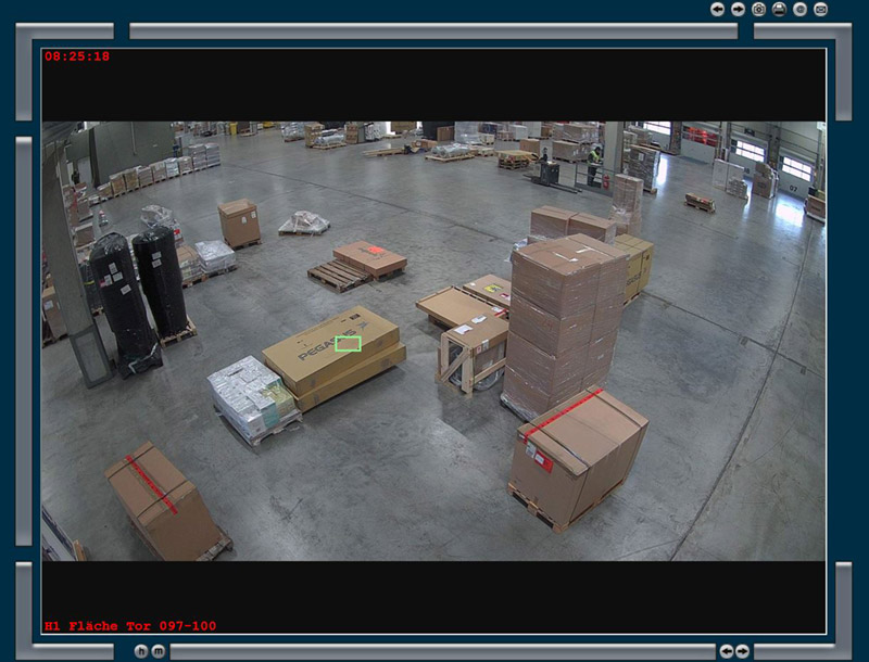 Bewegungsanalyse von Warensendungen | DIVIS