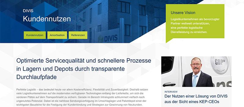 Logistiker setzen auf DIVIS-Lösungen