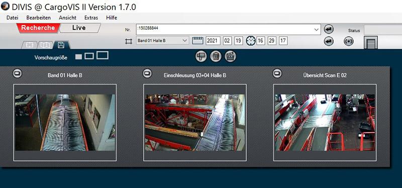 Thumbbearbeitung in CargoVIS und ParcelVIS Version 1.7.0 | DIVIS