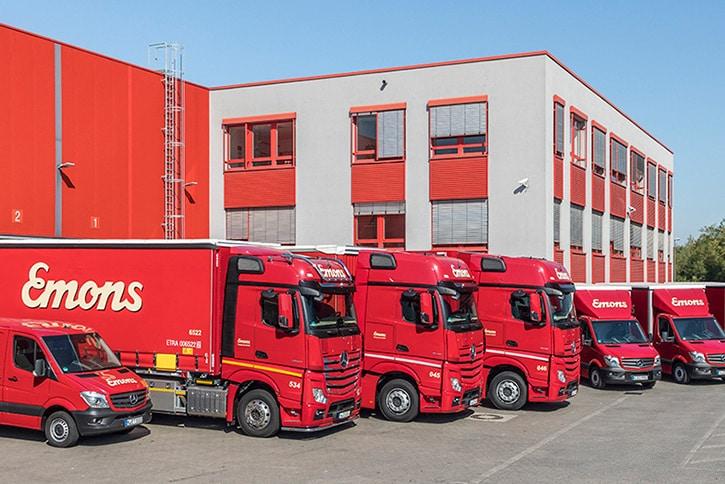 CargoVIS im Stückgutumschlag bei Emons Spedition GmbH