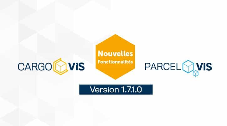 Notes de mises à jour | CargoVIS | ParcelVIS