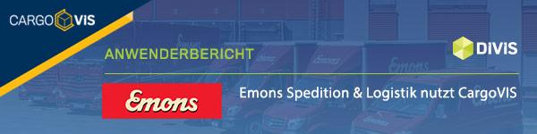 Emons nutzt CargoVIS Videomanagement in Köln
