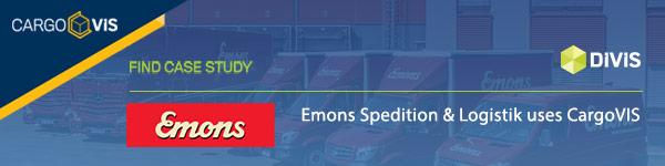 Emons uses CargoVIS Videomanagement in Cologne